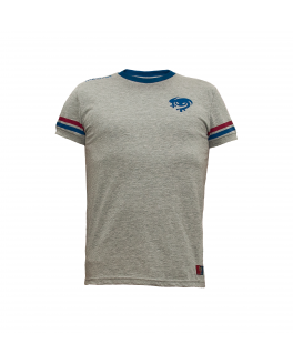 Camiseta Casual Gris Junior