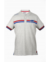 Polo Casual Gris