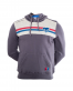 Sudadera Capucha Casual Gris Junior